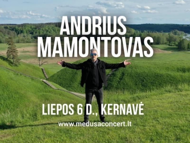 Andriaus Mamontovo koncertas Kernavėje