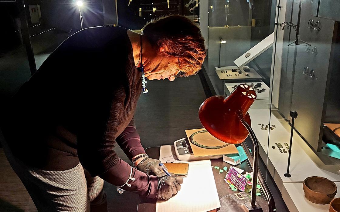 Kernavės muziejuje tirti archeologiniai radiniai