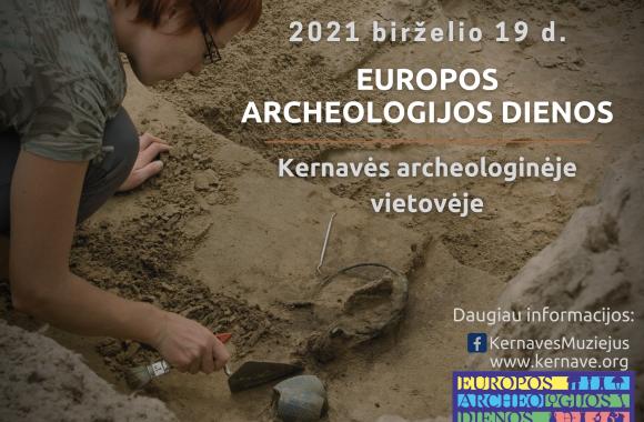 Kviečiame į Europos archeologijos dienai skirtus užsiėmimus