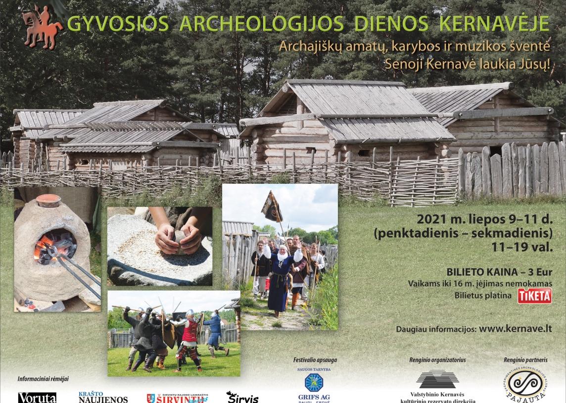 Gyvosios archeologijos dienos Kernavėje
