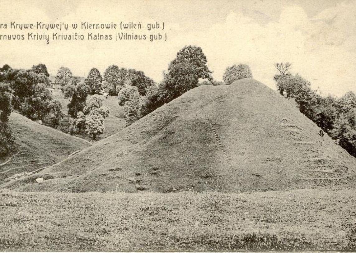 Leidinys Kernavė istorinėse fotografijose