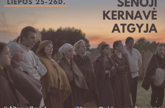 Old Kernavė comes to life