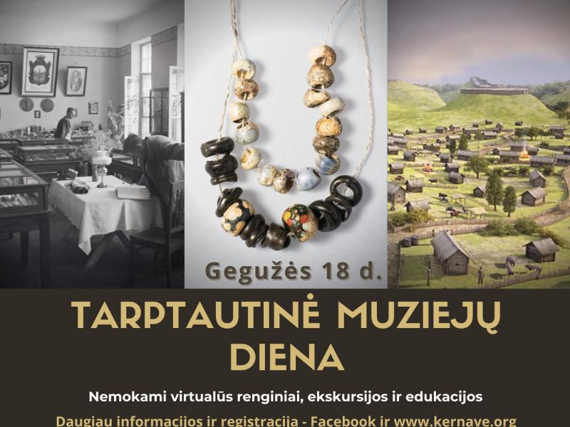 Tarptautinė muziejų diena virtualiai