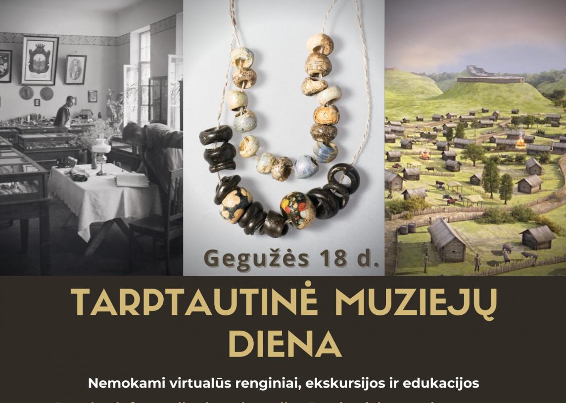 Kviečiame į virtualius Tarptautinės muziejų dienos renginius