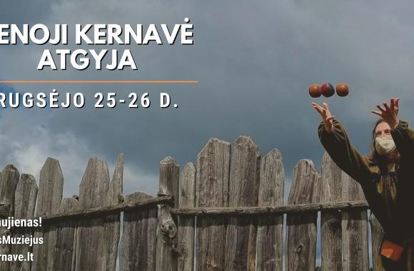 Senoji Kernavė atgyja rugsėjo 25-26 d.