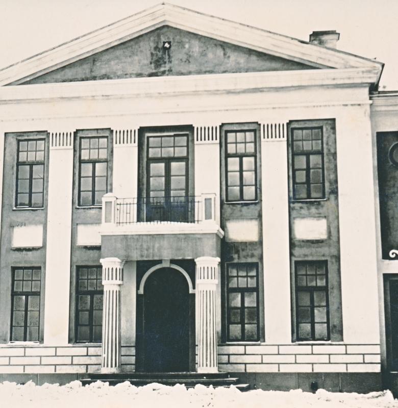 Kernavės pradžios mokykla, XX a. 4 dešimtmetis. Mokyklos pastate 1929–1930 m. buvo įrengtas vienas pirmųjų krašto muziejų Lietuvoje.