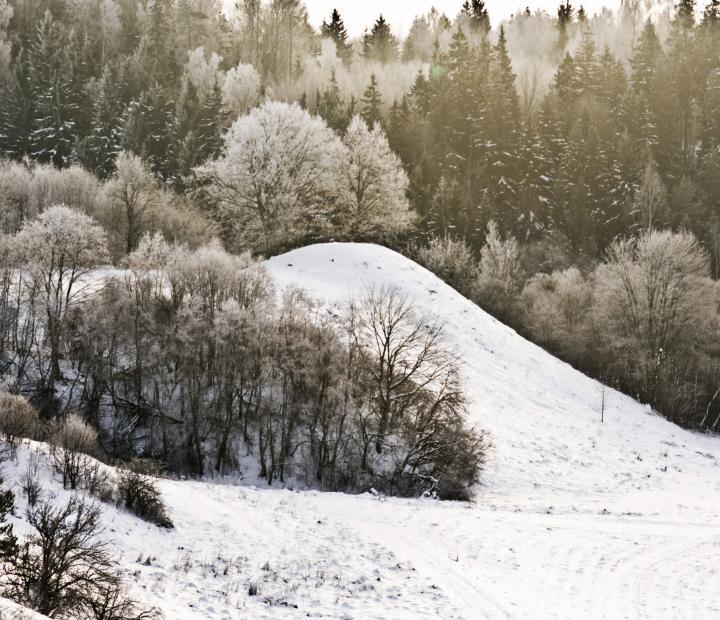 Kernavė žiemą