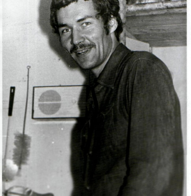 Pirmasis Valstybinio Kernavės archeologijos ir istorijos muziejaus rezervato direktorius 1989 m. archeologas Vytautas Ušinskas (1954 – 1991)