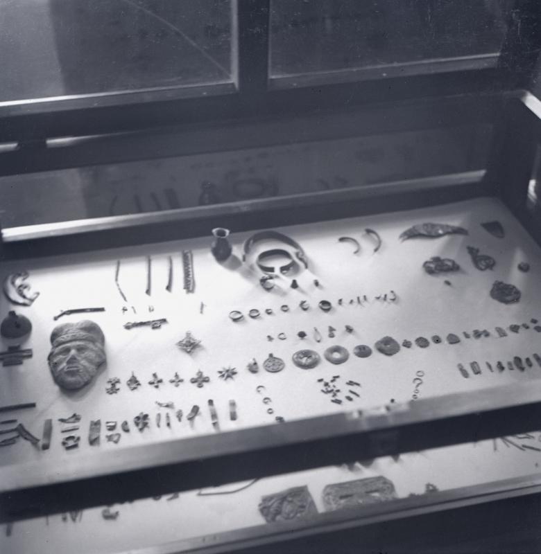 Pirmojo muziejaus archeologiniai eksponatai 1930 – 1948 m.