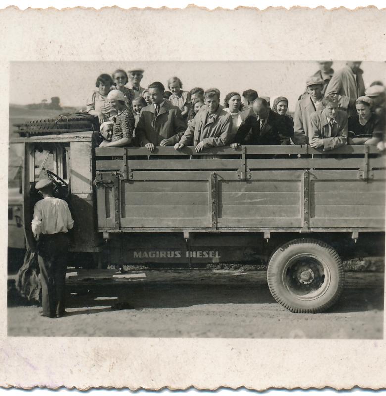 Ekskursija į Kernavę 1934 m.