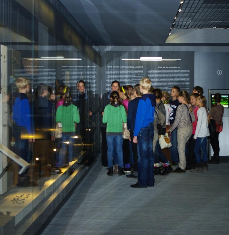Ekskursija Kernavės archeologinės vietovės muziejuje