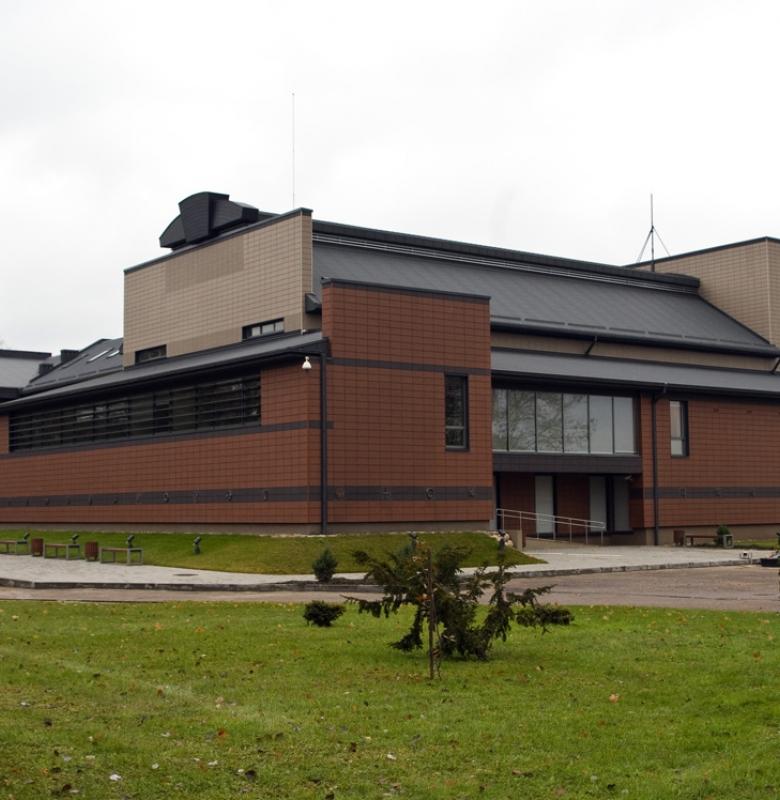 Rekonstruotas direkcijos ir muziejaus pastato fasadas 2010 m.
