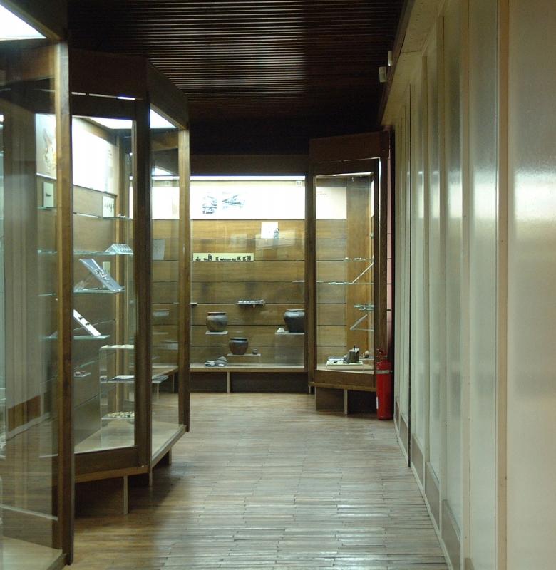 Kernavės muziejaus ekspozicija