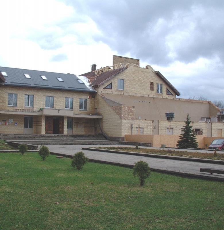 Seniūnijos ir muziejaus pastato rekonstrukcija 2006 m.